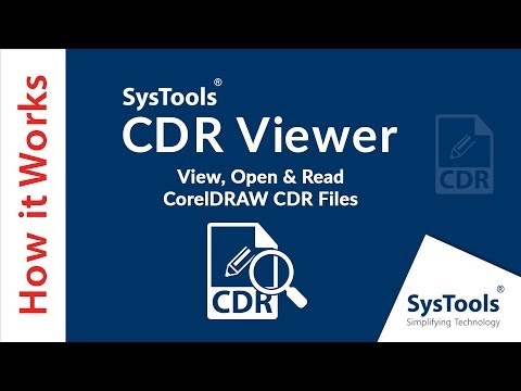 SysTools CDR Viewer - How to Open CorelDRAW CDR Files in Windows Without CorelDRAW