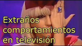 Extraños comportamientos en Televisión!!!