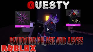 Reviewing The New CRATE GODLYS PHASE AND ABYSS *Chapter 6*   ROBLOX GUESTY