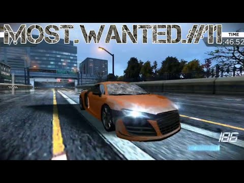 Need For Speed Most Wanted Playthrough #11 Audi & Bentley - 동영상