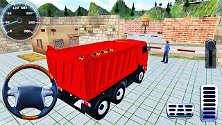 Offroad Indian Truck Driver Simulator #2 - Mountain Heavy Cargo Truck Drive 2020 - Android GamePlay screenshot 1