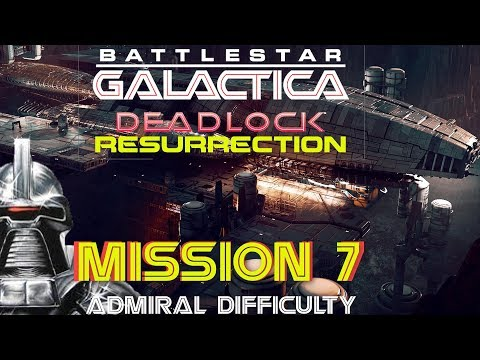 Battlestar Galactica Deadlock Resurrection Mission 7 Triangulation (Tai Pan Fighters)