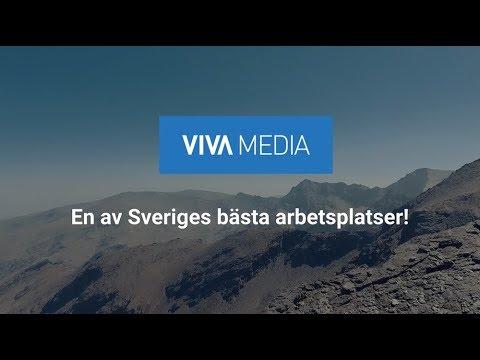Viva media – en av Sveriges bästa arbetsplatser 2018