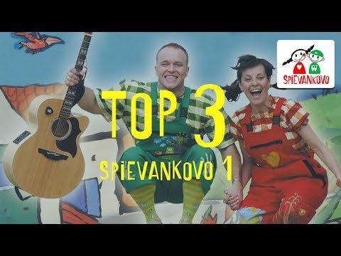 TOP 3 najobľúbenejšie pesničky zo SPIEVANKOVA 1