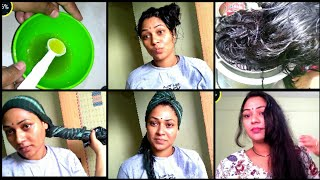 Spa Day Vlog|Hairspa At Home In Telugu| Benifits|How To Do|Tips For Dry, Frizzy Hairs|mana inty tips