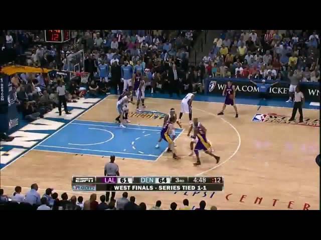 Saturdays Top 5: NBA TV Top 5: May 23rd (05/23/2009) (Lakers vs. Nuggets Game 3)