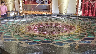 Arab Emirates - Dubai Burj Al Arab Hotel Water Fountain (Music Ver.)
