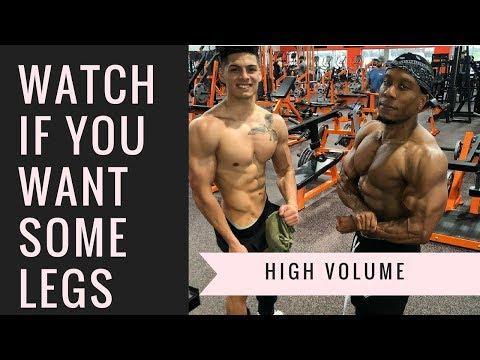 GROW THEM LEGS   High Volume Leg Day (with Branden Vasquez)