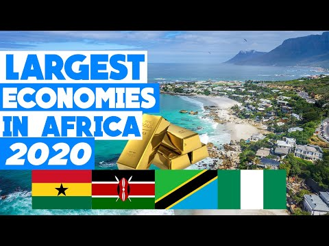 Top 10 LARGEST Economies in Africa (GDP) in 2020