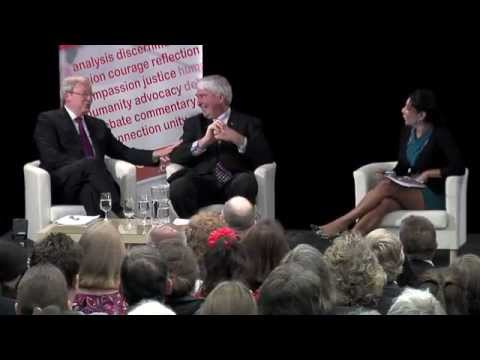 A Discerning Conversation with Kevin Rudd