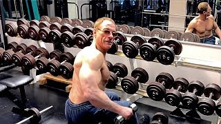 Jean-Claude Van Damme - 57 Years Old Workout !!!