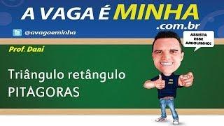 TRIÂNGULO RETÂNGULO  TEOREMA DE PITÁGORAS )