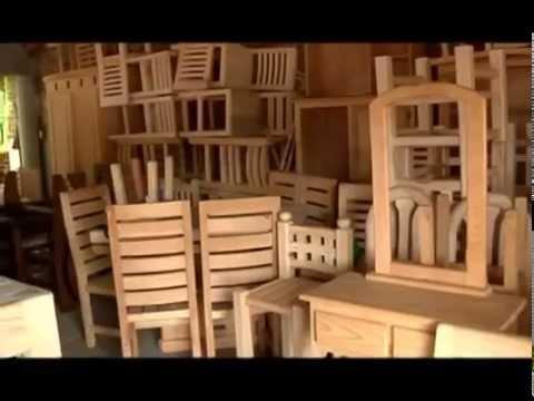 Cuanajo Michoacn Tradicin y muebles de madera part1