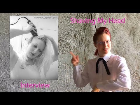 My Head Shaving Experience and Shaving Tips - Kat's Interview