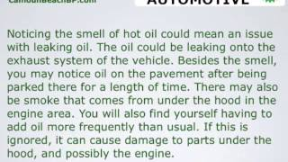 6 smells to notice for your vehicle