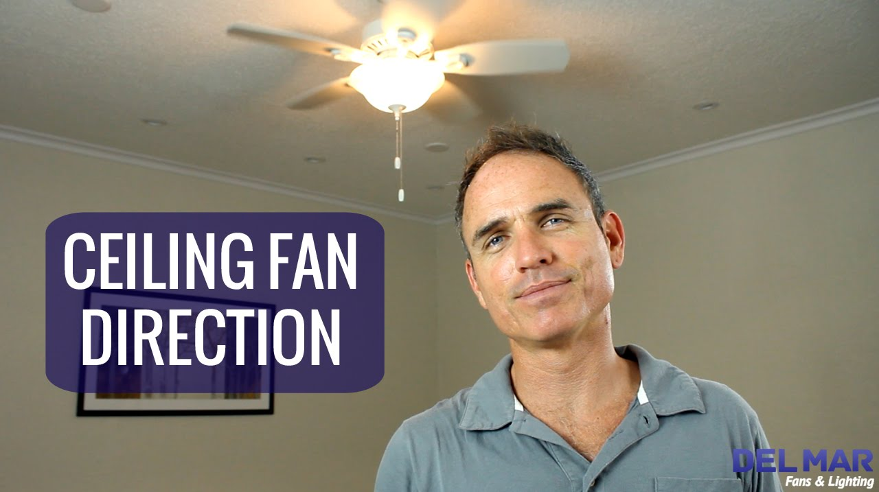 ceiling fan direction youtube. Black Bedroom Furniture Sets. Home Design Ideas