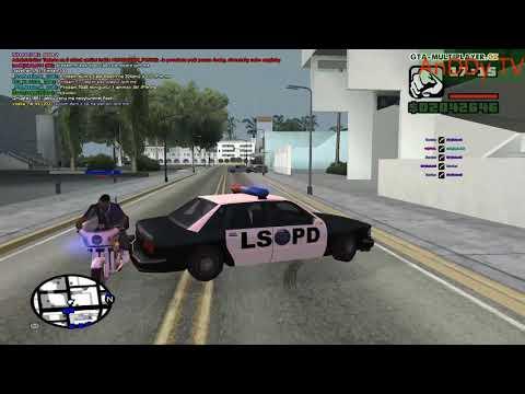 GTA San Andreas WTLS  Policajne Pripady a Blbyny.
