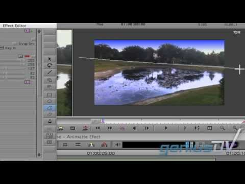 Color Correction Mask using Animatte with Media Composer