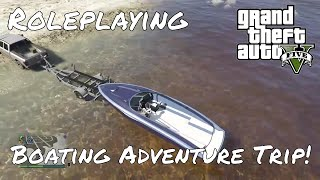 GTA 5 Online Roleplaying - Boat Day Trip