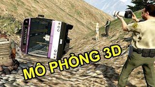 MÔ PHỎNG 3D - Tai nạn xe  trở 20 sinh viên  rơi xuống đèo Hải Vân || Los Santos GTA 5
