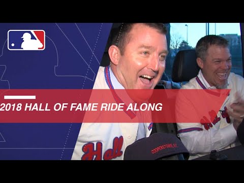 Watch the Extended Cut of ChipperJones and Jim Thome in Hall of Fame ride along