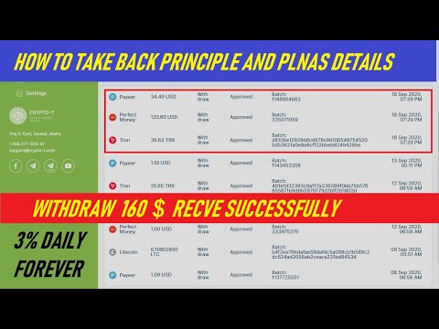 GOOD HOURLY PAYING crypto-t.com 160 WITHDRAW & WATCH  HOW TO TAKE BACK PRINCIPLE