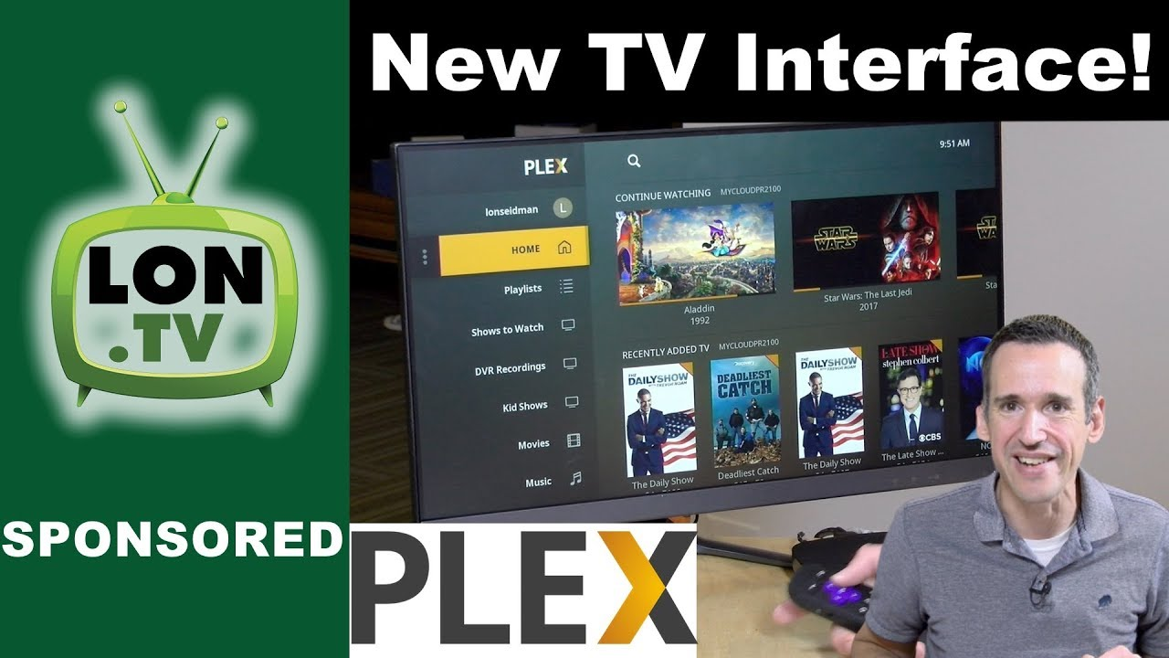 New Plex TV Interface! Library Focused Navigation, Tons of Customization