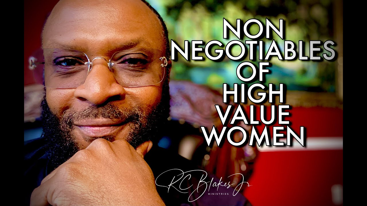 Download NON NEGOTIABLE STANDARDS OF A HIGH VALUE WOMAN by RC Blakes