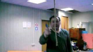 канат(Рез пенькового каната,10мм диаметр,без замаха,скелетным Дикобразом 76мм клинок., 2009-04-21T20:41:41.000Z)