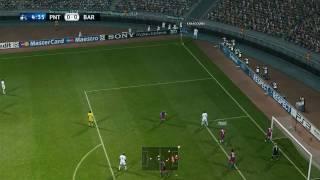 Pro  Evolution Soccer 2011 PC Gameplay FC Barcelona vs Panathanaikos