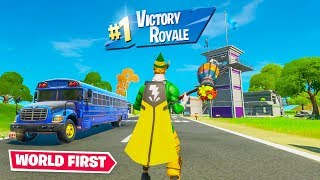 WORLDS 1ST WIN ON SPAWN ISLAND (Impossible)