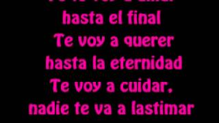 David Bisbal - Hasta el final (Letra) (Solamente vos)