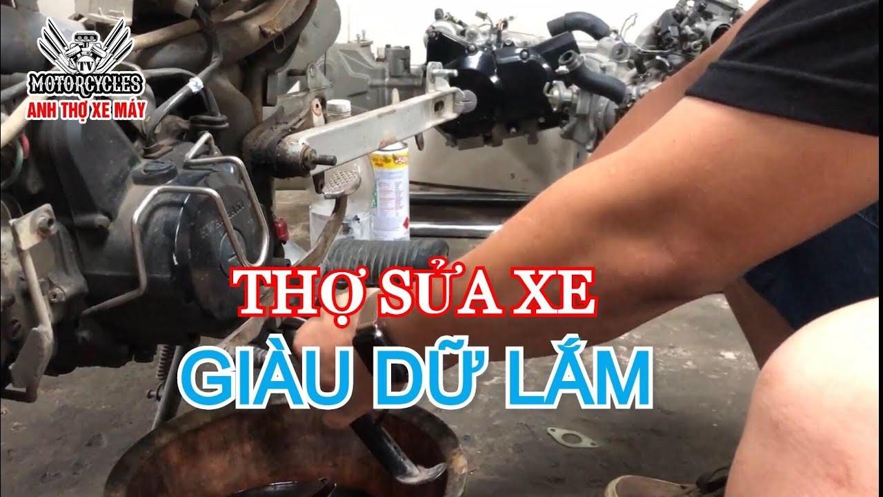 Video 317: Tâm Sự Anh Thợ Xe Máy Về Nghề Về Khách | Motorcycle TV