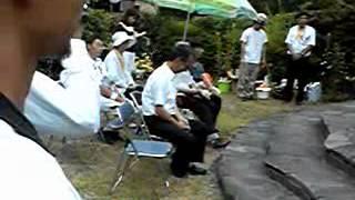 2013年8月4日 渥美清こもろ寅さん会館にて.