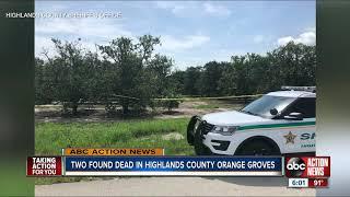 Deputies investigating double homicide in Highlands County
