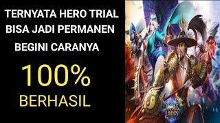 CARA UBAH HERO TRIAL MENJADI PERMANEN 100% BERHASIL