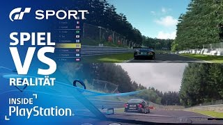 Gran Turismo Sport: Spiel vs. Realität im Grafikvergleich