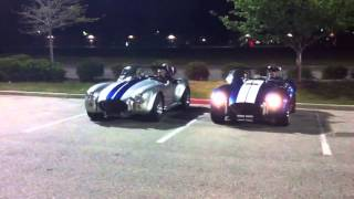 1965 Ford Shelby Cobra 427 - Burnout