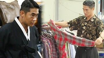 배정남, 구제 시장을 점령한 상남자 모델 '옷이 배정남빨' @미운 우리 새끼 109회 20181021