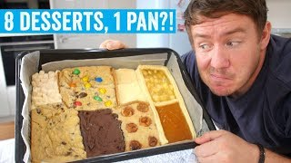 Tasty's '8 Desserts in 1 Pan' | MVK tries #7