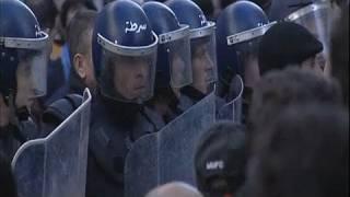 الجزائر: جرحى واعتقالات في صفوف متظاهرين معارضين