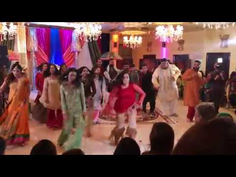 Nadia and Muneeb's Best Mehndi Dance! 2018 Part (3 of 3)