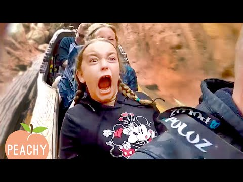 She REGRETS Taking This RIDE 😂 🎢 Funny Moments and Fails 2020