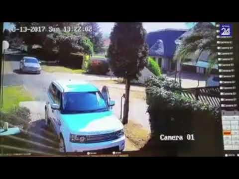 evita que le roben el auto gracias a su rapida reaccion