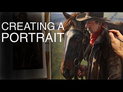 Utube Oil Painting Horses