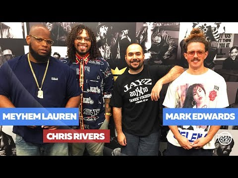 Meyhem Lauren and Chris Rivers Spit Flames on Real Late w Rosenberg