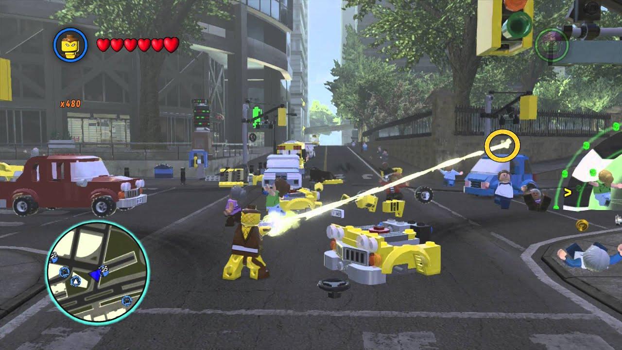 LEGO Marvel Superheroes Shocker Free Roam Gameplay