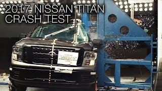 2017 Nissan Titan (Crew Cab) Pole Crash Test
