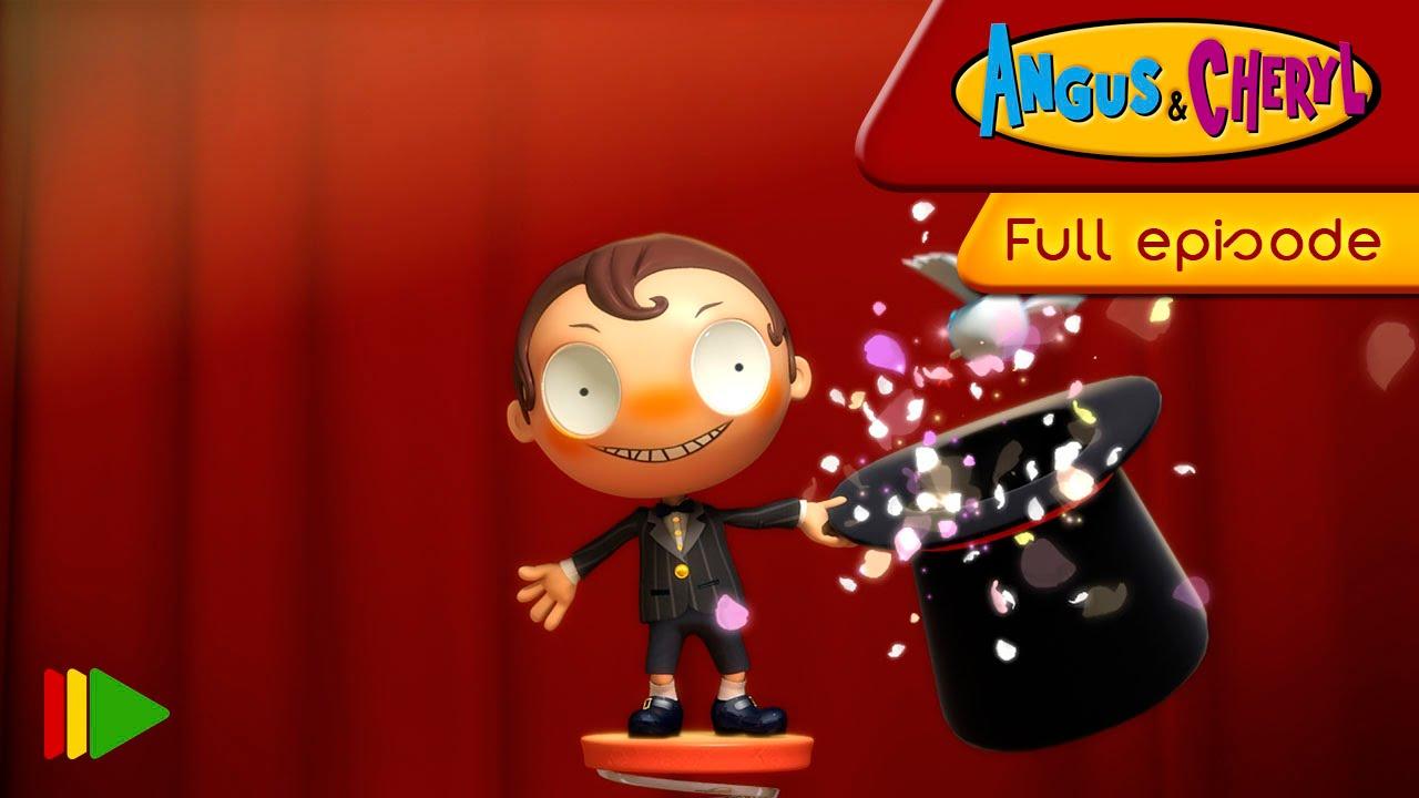 Angus & Cheryl - 58 - Angus the magician