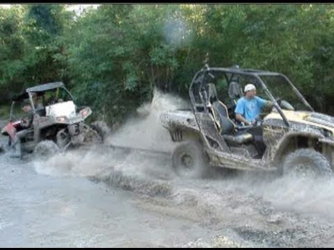 Giant Polaris Rzr Broke And Nasty Stuck Pulled Out By